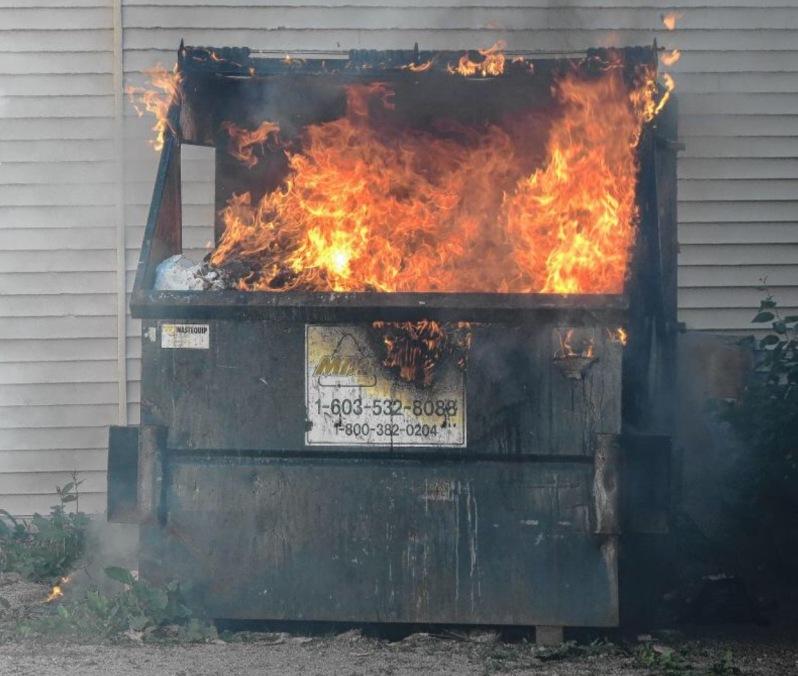 dumpster fire
